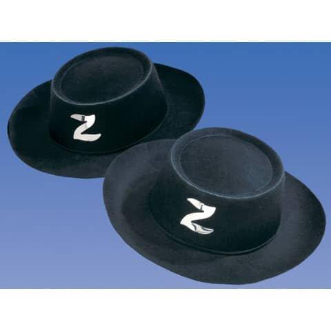 Kinderhut 'Zorro' - schwarz