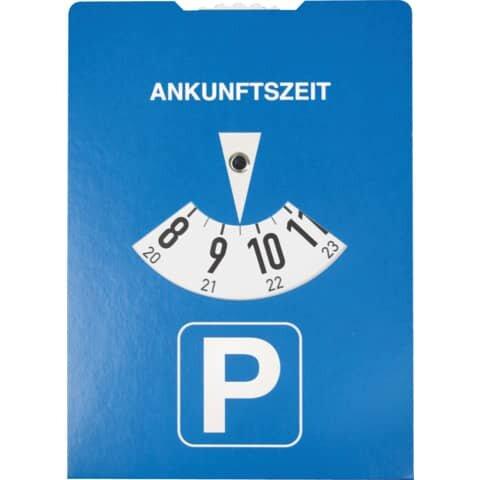 Rnk Parkscheibe nach StVO aus Karton, Maße (BxH): 11 x 15 cm