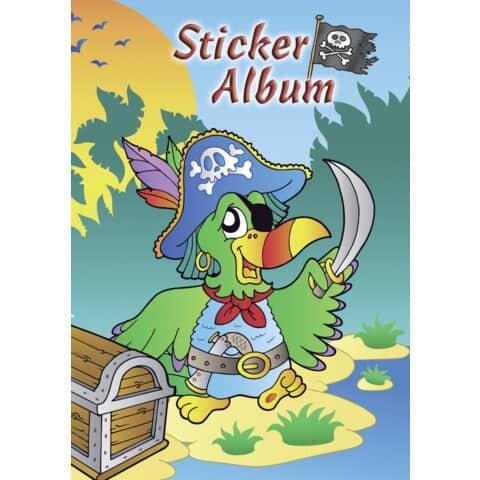 Avery Zweckform Z-Design 57799, Kinder Sticker Sammelalbum A5, Pirat