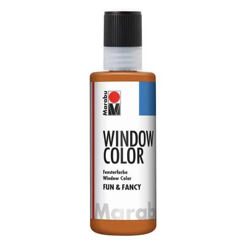 Marabu Window Color fun&fancy, Hellbraun 047, 80 ml