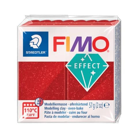 Staedtler Modelliermasse FIMO® soft - 56 g, rot