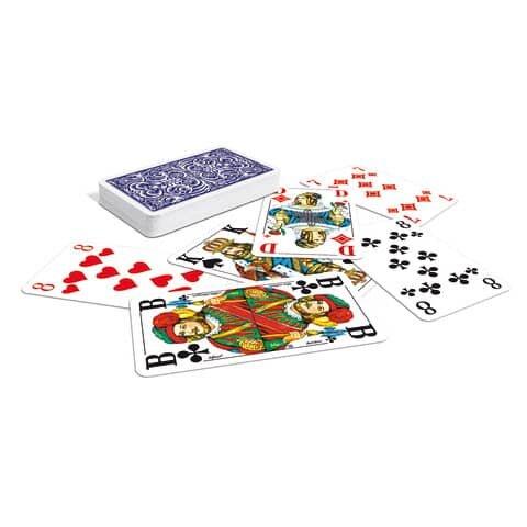 Ass Spielkarten Senioren-Skat (französisches Bild)
