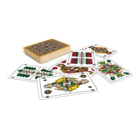 Ass Spielkarten Doppelkopf (deutsches Bild)