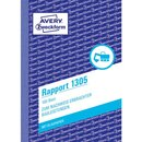 Avery Zweckform 1305 Rapport, DIN A6, vorgelocht, 100...