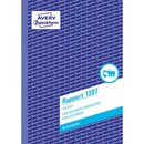 Avery Zweckform 1307 Rapport, DIN A5, vorgelocht, 100...
