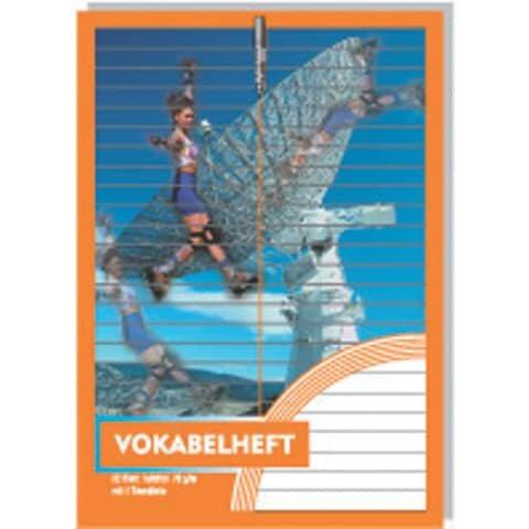 Penig Vokabelheft - A5, 32 Blatt, 1 Trennlinie