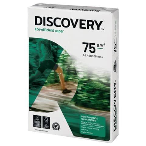 Kopierpapier Discovery - A4, holzfrei, 75 g/qm, weiß, 500 Blatt