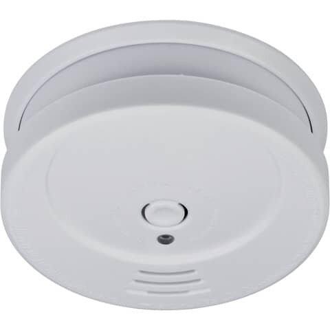 Brennenstuhl Rauchmelder C 9010 - Alarmsignal 85 dB, Fotoelektrischer Melder, weiß