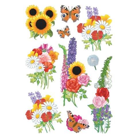 Herma 3369 Sticker DECOR Moderne Blumen