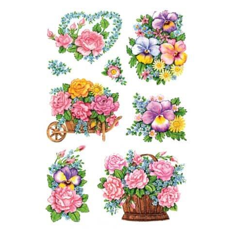 Herma 3354 Sticker DECOR Nostalgische Blumentöpfe