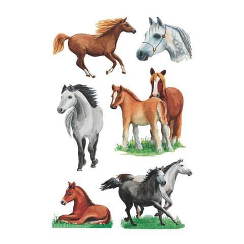 Herma 3553 Sticker DECOR Pferderassen