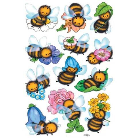 Herma 3569 Sticker DECOR Lustige Bienen