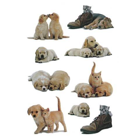 Herma 5606 Sticker DECOR Hundewelpen