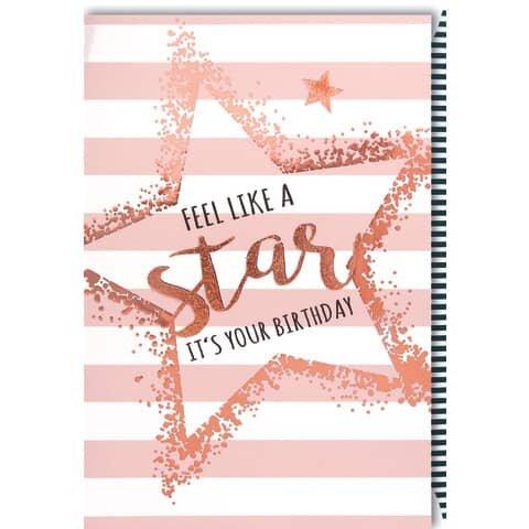 Geburtstagskarte englisch - inkl. Umschlag