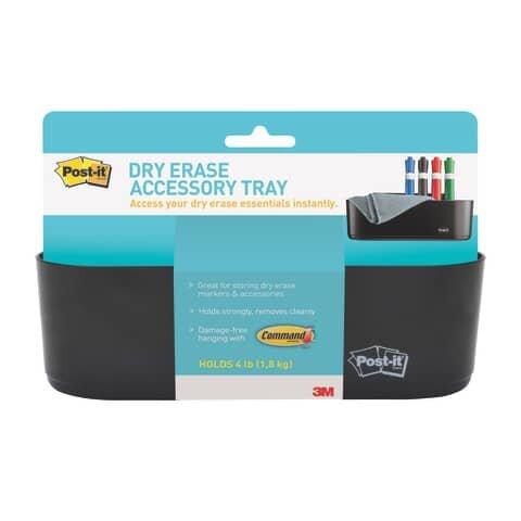 Post-It Dry Erase-Ablagekorb - schwarz