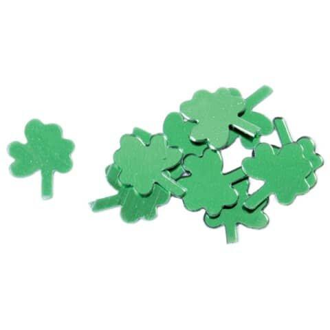 Konfetti Glücksklee - 10 g, grün