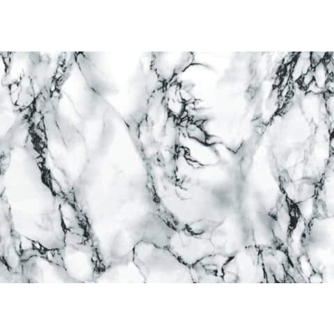 D-C-Fix Klebefolie - 45 cm x 2 m, weiß, Marmor