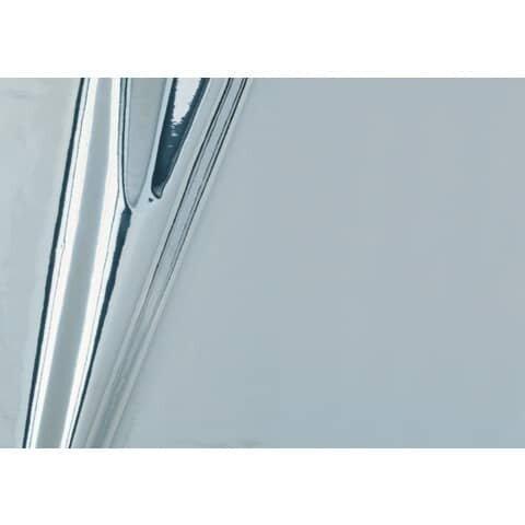 D-C-Fix Klebefolie - 45 cm x 1,5 m, silber metallic, hochglanz