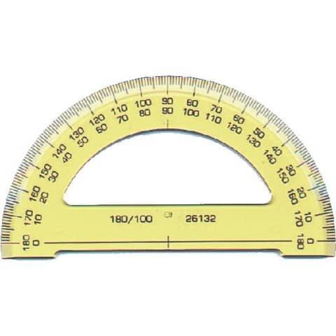 Koh-I-Noor Winkelmesser 180° (Halb)
