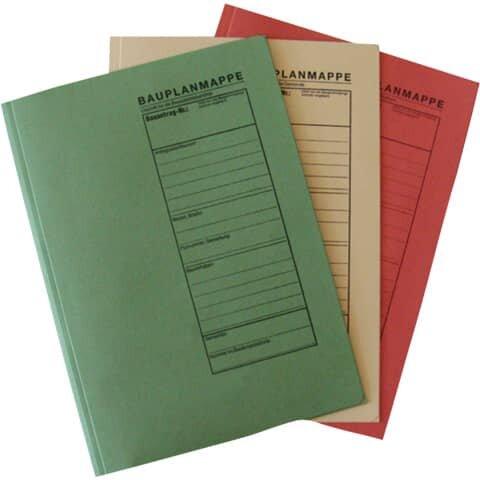 Rnk Bauplanhefter - für Bauantragsverfahren, Pack ŕ 3 Stück