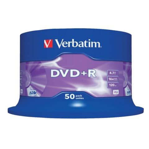 Verbatim DVD+R AZO - 4,7 GB, 16x, 50 Stück