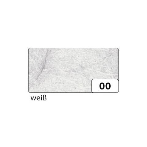 Folia Strohseide - 47 x 64 cm, weiß