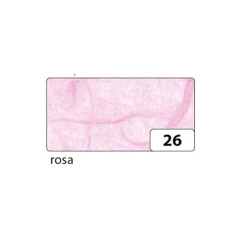 Folia Strohseide - 47 x 64 cm, rosa