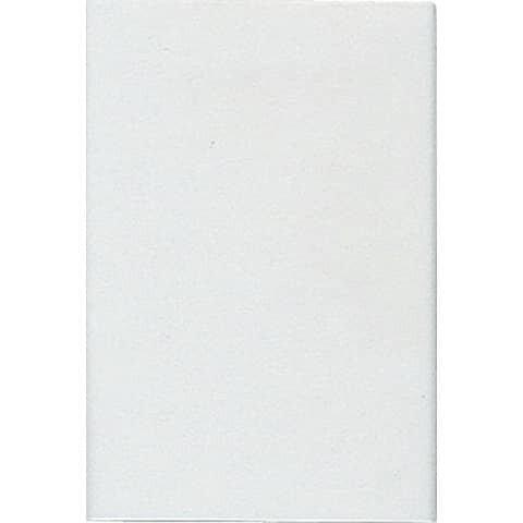 Duni Tischdecke - uni, 118 x 180 cm, weiß