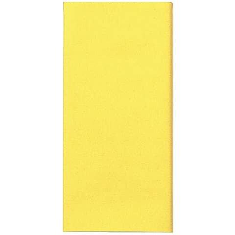 Duni Tischdecke - uni, 118 x 180 cm, gelb
