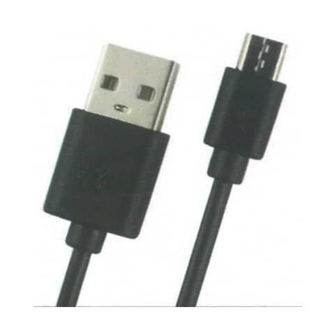 Skw USB-Kabel Micro für Android schwarz