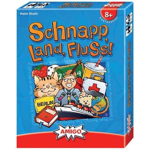 Amigo Kartenspiel - Schnapp, Land, Fluss