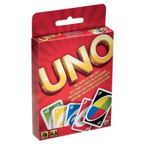 Mattel Spielkarten Uno