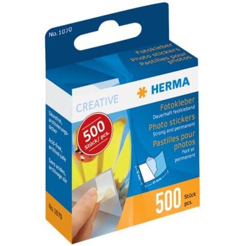 Herma 1070 Fotokleber im Kartonspender, 500 St.