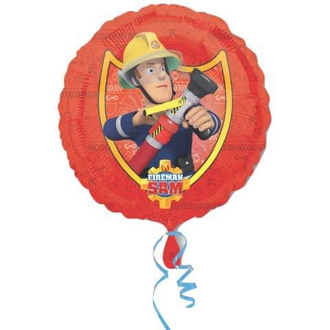 Folienballon Feuerwehrmann Sam - Ř 43 cm