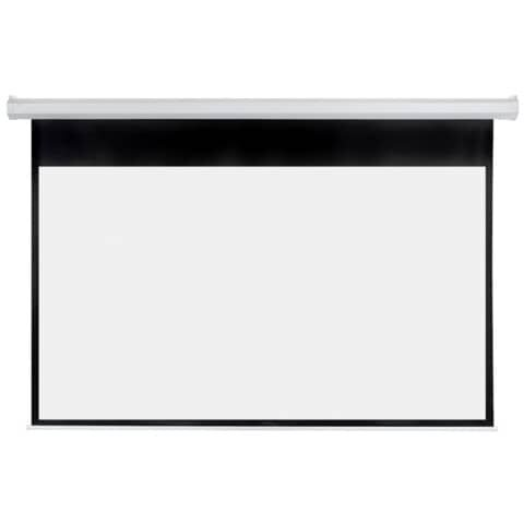 Franken X-tra!Line® elektrische Rolloleinwand - 240 x 135 cm