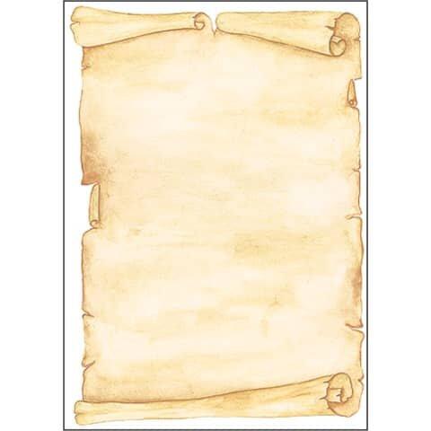 Sigel Motiv-Papier, Pergament, A4, 90 g/qm, 50 Blatt