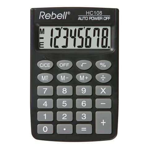 Rebell Taschenrechner HC108 BX