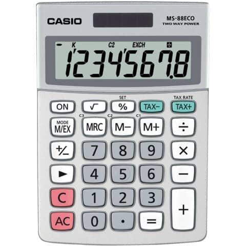 Casio Öko-Tischrechner MS-88 ECO
