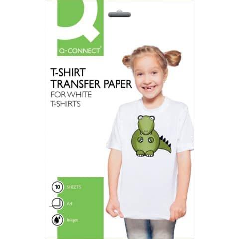 Q-Connect T-Shirt Transferfolie - A4, 0,10 mm, 10 Folien