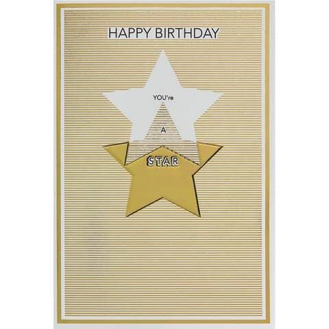Bsb Geburtstagskarte englisch - inkl. Umschlag