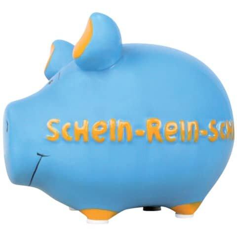 KCG Spardose Schwein 'Schein-rein-Schwein' - Keramik, klein