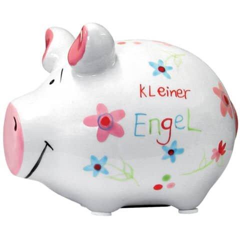 KCG Spardose Schwein 'Mein kleiner Engel' - Keramik, klein