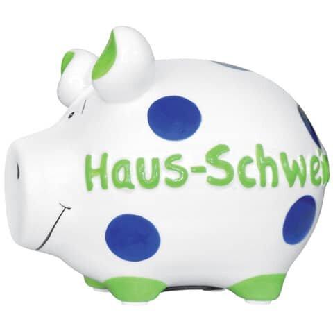 KCG Spardose Schwein 'Haus-Schwein' - Keramik, klein