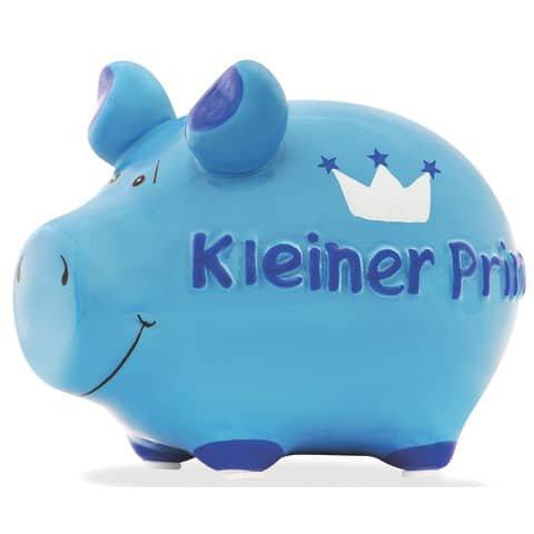 KCG Spardose Schwein 'Kleiner Prinz' - Keramik, klein