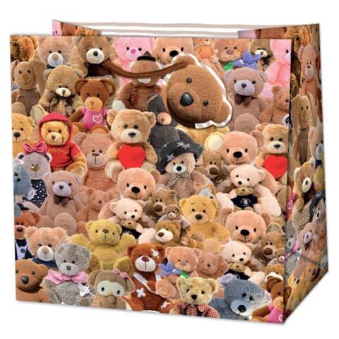 Geschenktragetasche Baby Teddy - 15 x 14,5 x 6 cm