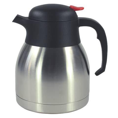 Thermoskanne - 1 Liter, Edelstahl