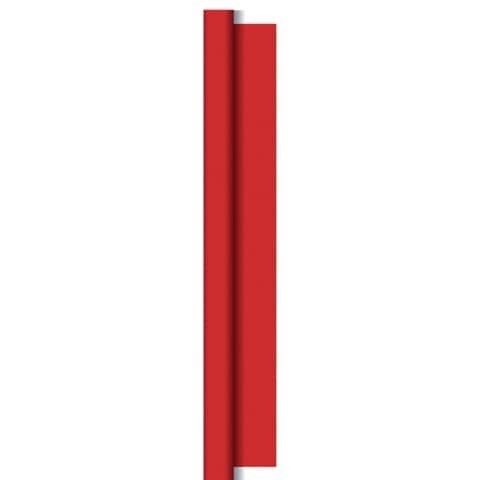 Duni Tischtuchrolle - uni, 1,18 x 5 m, rot