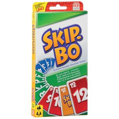Mattel Kartenspiel - Skip-Bo